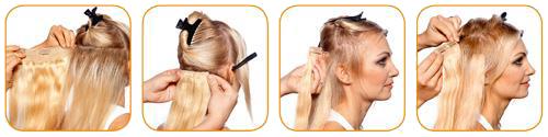 волосы на заколках купить в Санкт-Петербурге